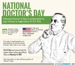 national doctor s day is celebrated to pay tribute to legendary dr