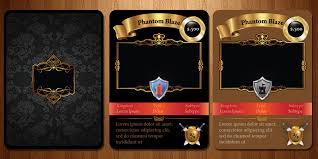 manifestation ccs trading card game template by