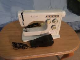 nice vintage working husqvarna viking 6020 sewing machine w 510