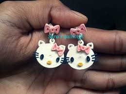 hello earrings 501 best quilling paper bead earrings 2 images on