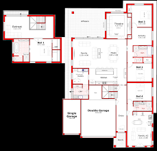 Double Floor House Plans by Designs