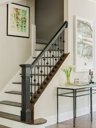 Wood Stair Banisters Wood Stair Railing Ideas Houzz