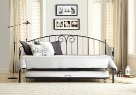 White Metal Daybed Homelegance Julia White Metal Daybed With Trundle 4961db Nt