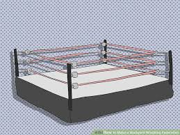 backyard wrestling ring for sale cheap how to make a backyard wrestling federation 7 steps