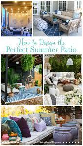 how to design the perfect summer patio sweet tea u0026 saving grace