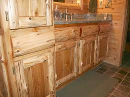Rustic Pine Kitchen Cabinets by Timber Country Cabinetry Rustic Log And Panel