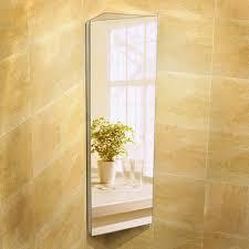 1200 x 300 corner mirror cabinet wall hung bathroom furniture