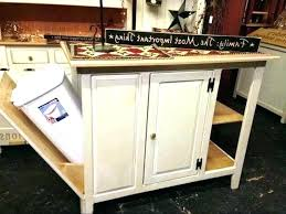 kitchen island with garbage bin kitchen island with trash can deluxe kitchen cart with hideaway