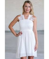 white summer dress cute sundress online white a line party dress