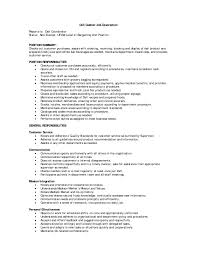position responsibilities deli cashier job description resume