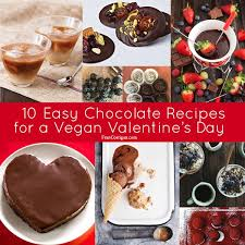 vegan s day easy chocolate recipes for a vegan s day fran costigan