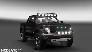 Ford Raptor Grey - ford f150 raptor svt mod for ets 2