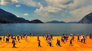 Floating Piers by Floating Reality And Pseudo Events Justraveling