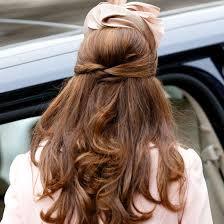 Hochsteckfrisurenen Halb by Halb Hoch Herzogin Kate Hochsteckfrisuren Kates Schönste Frisuren