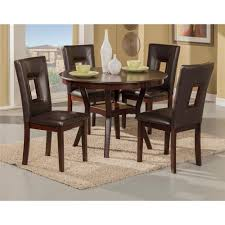 alpine furniture 5213 segundo 5 piece dining set in espresso with