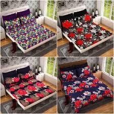 Best Bedsheet 3d Double Bed Sheet Buy 3d Double Bed Sheet Online At Best Price