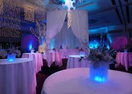 Hall Room Interior Design - baby blue wedding decoration ideas interior round table with white