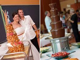 dessert mariage un mariage et orange avec un buffet de dessert de folie