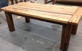 Hickory Table Top Now Available 7 U0027 Antique Hickory Reclaimed Wood Table For Sale