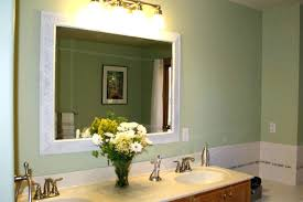 Bathroom Mirrors Montreal Decor Mirror Installation Wall Mirrors Framed Like This
