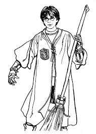 harry potter cartoon coloring pages coloring