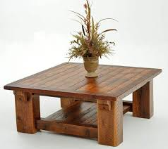 Wooden Table Plans Living Room The Most Incredible Rustic Wood Coffee Table And