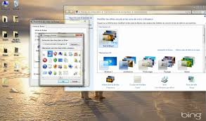 theme de bureau windows 7 comment changer l icône ordinateur sous windows 7