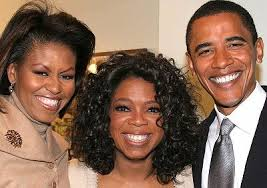 Oprah Winfrey, President Obama and First Lady