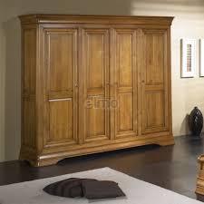 chambre louis philippe merisier massif armoire de chambre 2 à 4 portes merisier massif style louis philippe