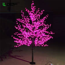 led tree luxury handmade artificial led cherry blossom tree light