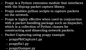 scapy guide writing basic security tools using python pdf