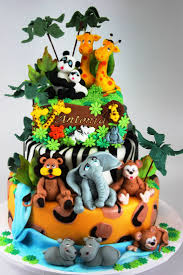 11 amazing jungle and animal baby shower cakes baby wants baby gets
