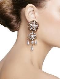dramatic earrings shoes oscar de la renta wedding heels dramatic drop earrings