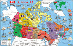 tourist map of new york tourist map of canada tourist map canada travel maps