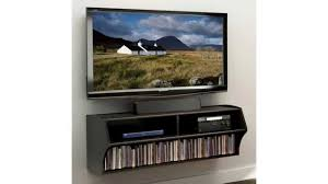 Wall Mounted Entertainment Console Prepac Altus Wall Mounted Audio Video Console Black Youtube