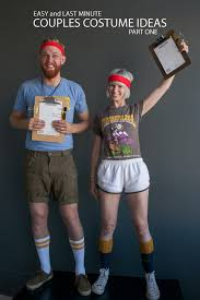 clever costumes for couples easy and last minute couples costumes pt 1 say yes