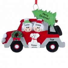 Christmas Decoration For Car by Lesbian Couple Dog Christmasy Car Ornament Personalized