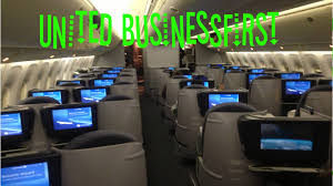 United Airlines Carry On Dantorp Review United Businessfirst 767 400 Ewr Fra Ua50 Youtube