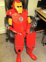 Iron Man Halloween Costume Awesome Homemade Iron Man Halloween Costume