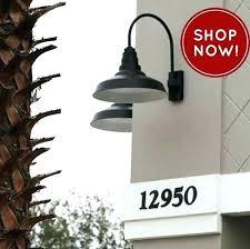 Outdoor Gooseneck Light Fixtures Fancy Outdoor Gooseneck Light Fixture Lighting Design Mild Gallery