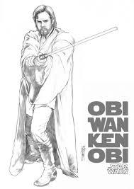 Ausmalbilder Star Wars Anakin Skywalker Neu Obi Wan Kenobi 4