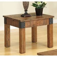 Accent End Table 15 Best Rustic End Tables In 2017 Modern Country Wood End Tables
