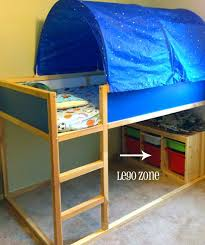 Ikea Bunk Bed Tent Bunk Bed Tents Appealing Loft Bed With Tent With Additional Home