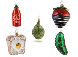 15 healthy food themed ornaments eat this not that