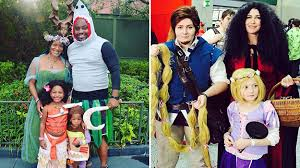25 times families absolutely nailed their disney halloween costumes