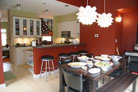 Kitchen Open To Dining Room Kitchen And Dining Room Design Fair Design Inspiration Kitchen And