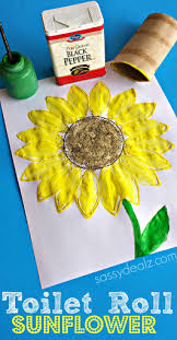 30 stunning sunflower crafts toilet paper roll toilet paper