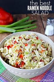 noodle salad recipes ramen noodle salad recipe so much asian flavor and crunch
