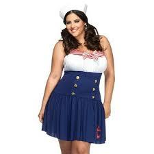 Size Sailor Halloween Costumes 50 Torrid Torrid Size 3x 4x Sailor Costume