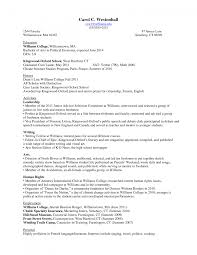 Sample Resume Objectives For Recent College Graduates by Resume Sample For Freshman College Student Templates